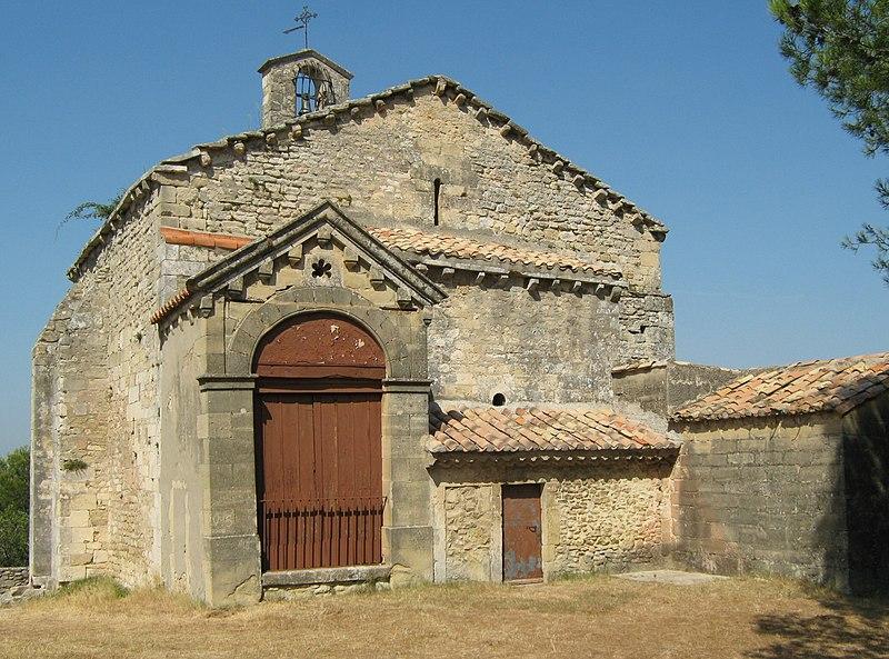 Photo du Monument Historique Chapelle Notre-Dame du Château situé à Saint-Etienne-du-Grès