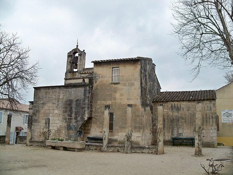 Photo du Monument Historique Chapelle Notre-Dame-de-Pitié situé à Saint-Rémy-de-Provence