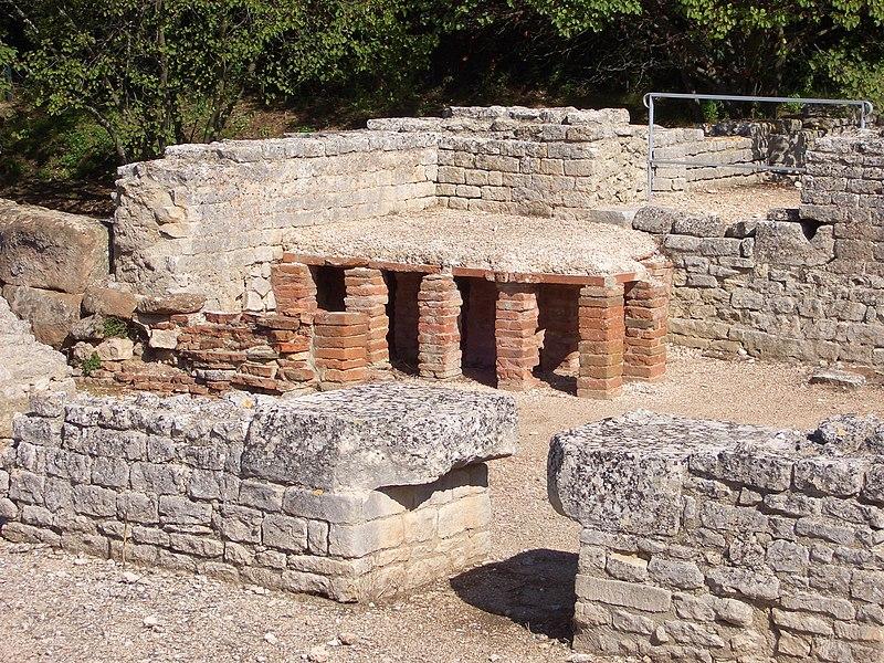 Photo du Monument Historique Fouilles de Glanum situé à Saint-Rémy-de-Provence