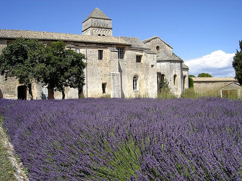 Photo du Monument Historique Prieuré de Saint-Paul-de-Mausole situé à Saint-Rémy-de-Provence