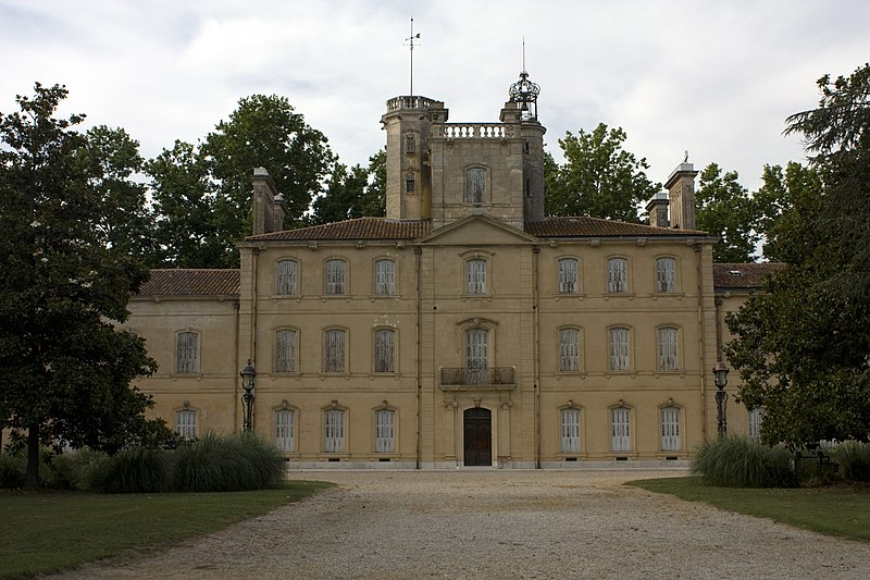 Photo du Monument Historique Domaine du château d'Avignon situé à Saintes-Maries-de-la-Mer
