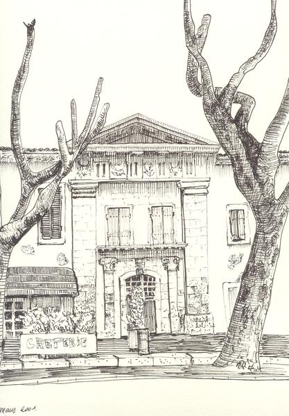 Photo du Monument Historique Abbaye Saint-Honorat (vestiges de l'ancienne) situé à Tarascon