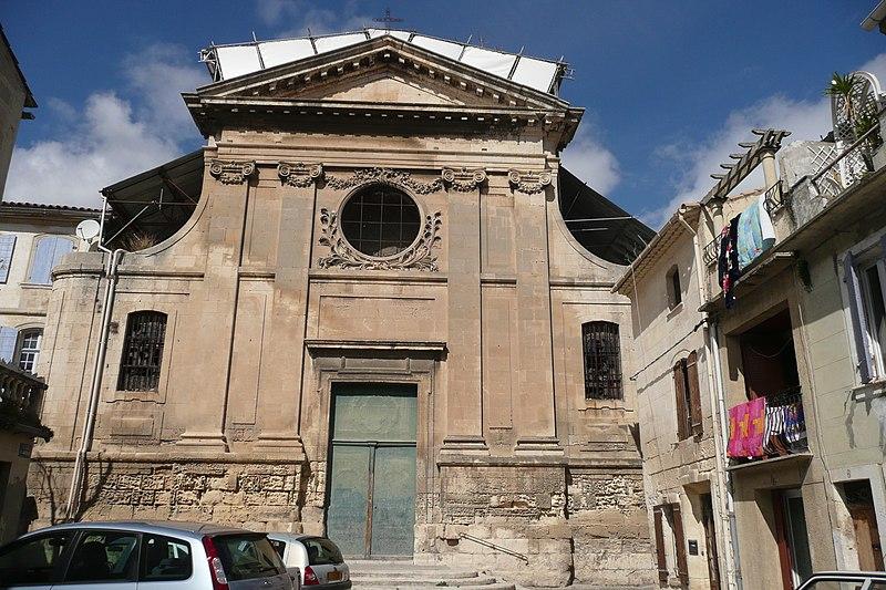 Photo du Monument Historique Eglise Saint-Jacques situé à Tarascon