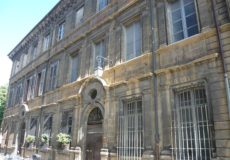 Photo du Monument Historique Hôtel de Gastaud (ou hôtel de Foresta ou hôtel de Montéty) situé à Aix-en-Provence