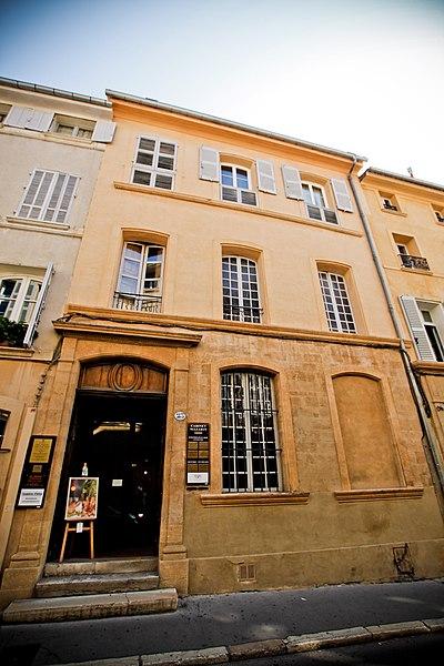 Photo du Monument Historique Hôtel Ravel d'Esclapon, dit aussi Boyer de Fonscolombe situé à Aix-en-Provence