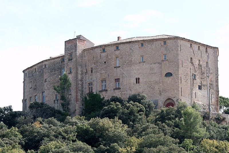 Photo du Monument Historique Château situé à Meyrargues