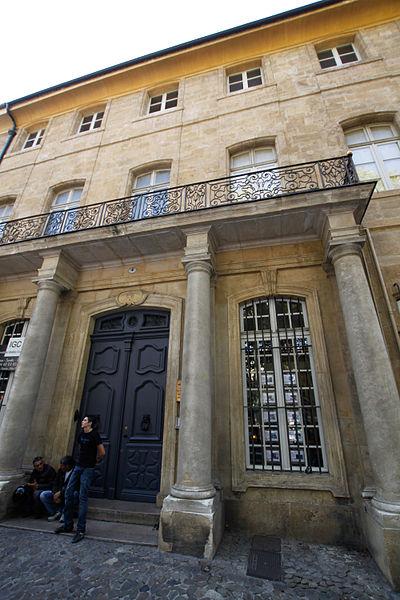 Photo du Monument Historique Hôtel d'Esmivy de Moissac, dit aussi hôtel de Villars situé à Aix-en-Provence