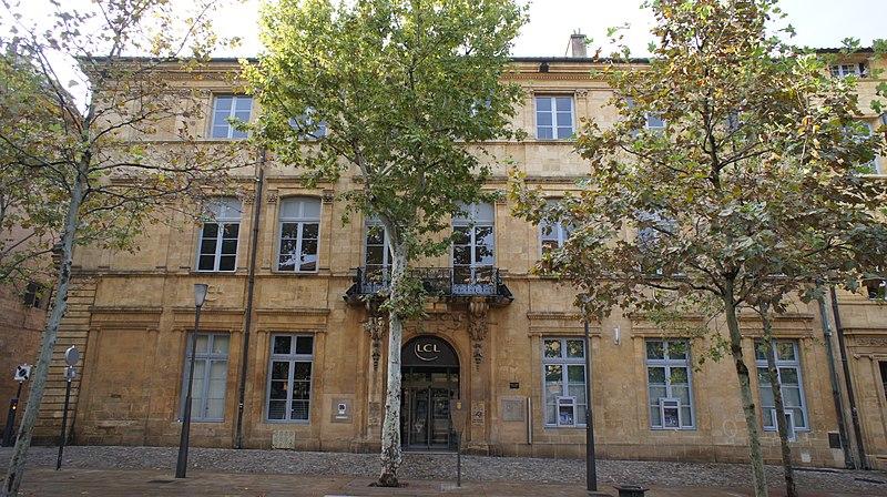 Photo du Monument Historique Hôtel de Forbin situé à Aix-en-Provence