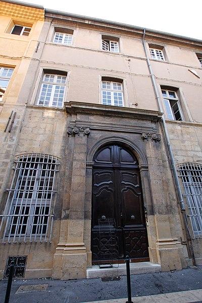 Photo du Monument Historique Hôtel Félix du Muy situé à Aix-en-Provence