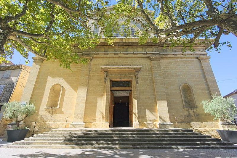 Photo du Monument Historique Eglise paroissiale Saint-Maurice situé à Pélissanne