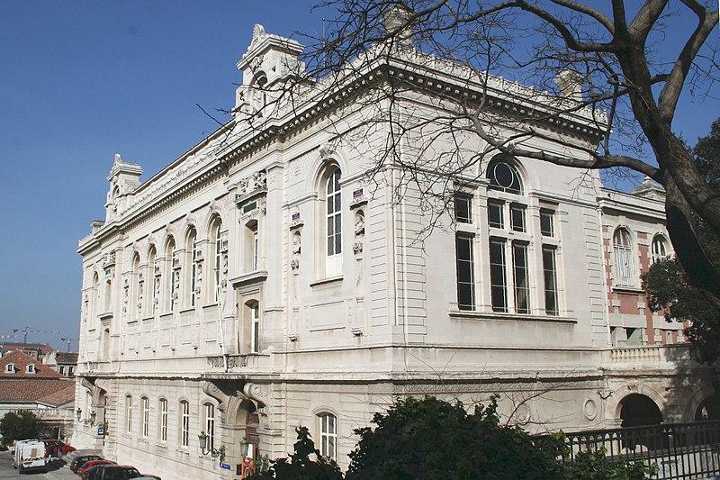 Photo du Monument Historique Palais des Arts situé à Marseille