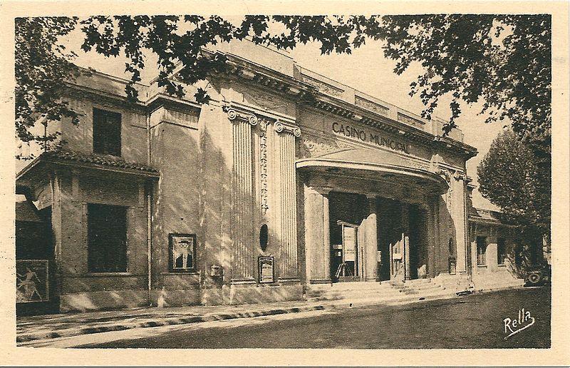 Photo du Monument Historique Casino municipal situé à Aix-en-Provence