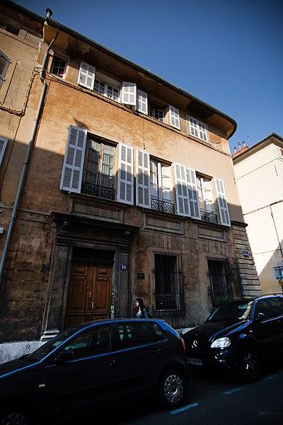Photo du Monument Historique Hôtel d'Olivary dit aussi hôtel Paradis ou hôtel de Silvacane ou Revest-de-Montvert ou Pignet-Guelton situé à Aix-en-Provence