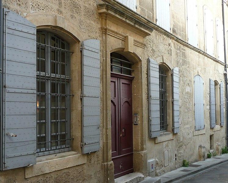 Photo du Monument Historique Hôtel de Truchet situé à Arles