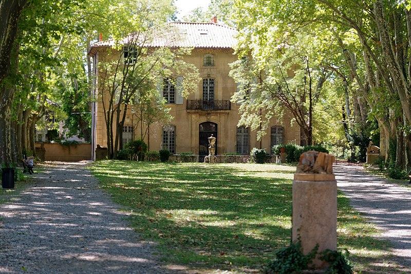 Photo du Monument Historique Bastide du Jas de Bouffan, dénommée aussi propriété Granel-Corsy du Jas de Bouffan situé à Aix-en-Provence