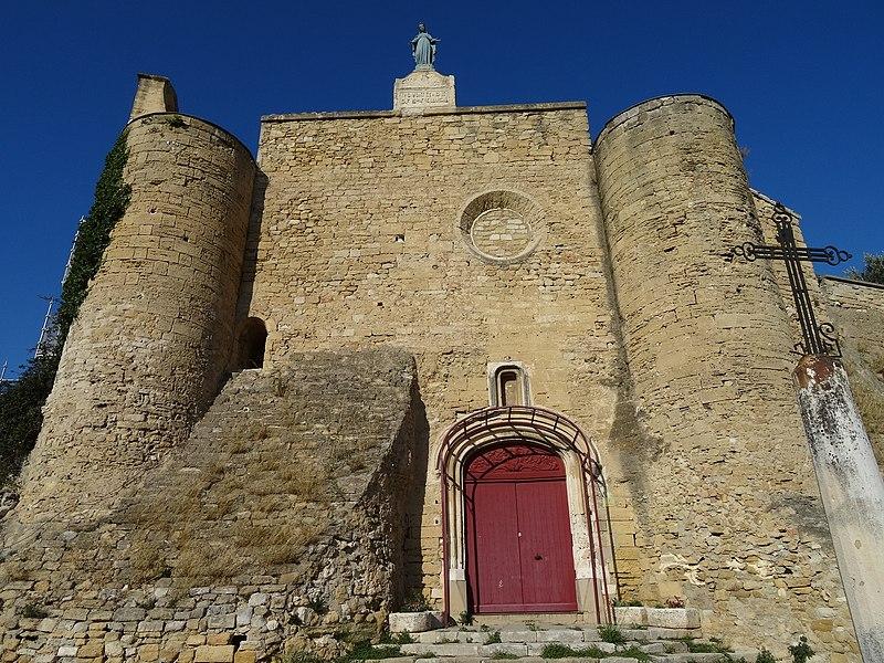 Photo du Monument Historique Eglise paroissiale Notre-Dame de Beauvoir situé à Istres