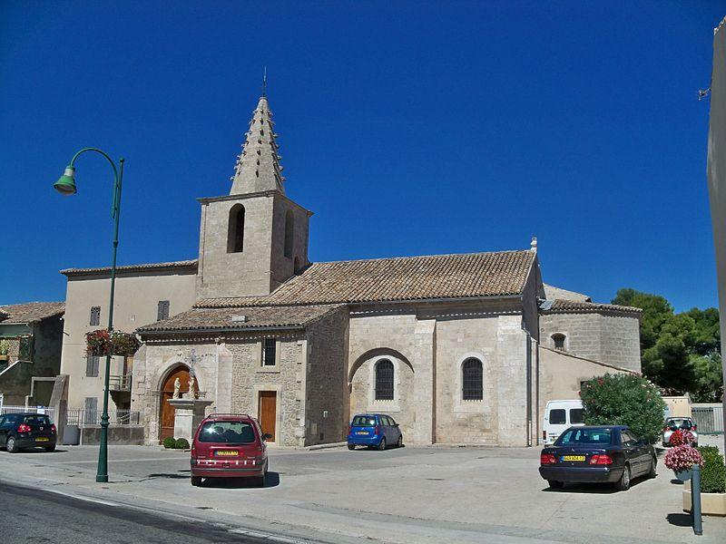 Photo du Monument Historique Eglise paroissiale Saint-Amand situé à Sénas