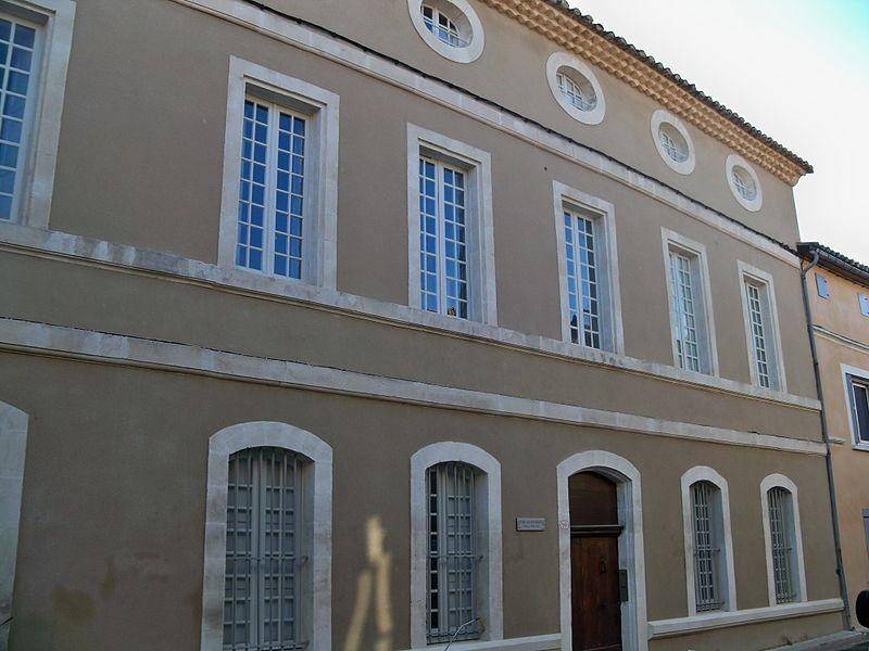 Photo du Monument Historique Hôtel Senchon de Bournissac situé à Noves