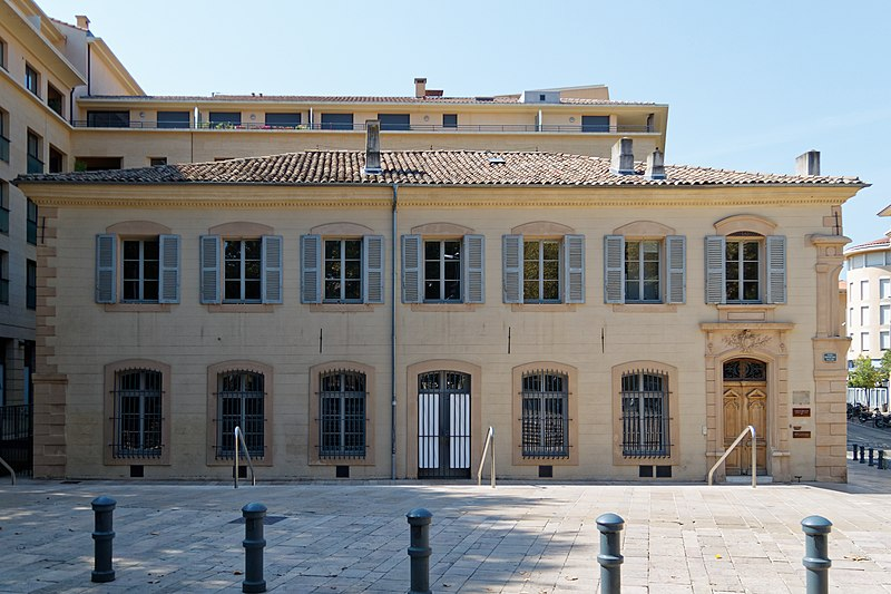 Photo du Monument Historique Logis du Bras d'Or ou maison de Darius Milhaud situé à Aix-en-Provence