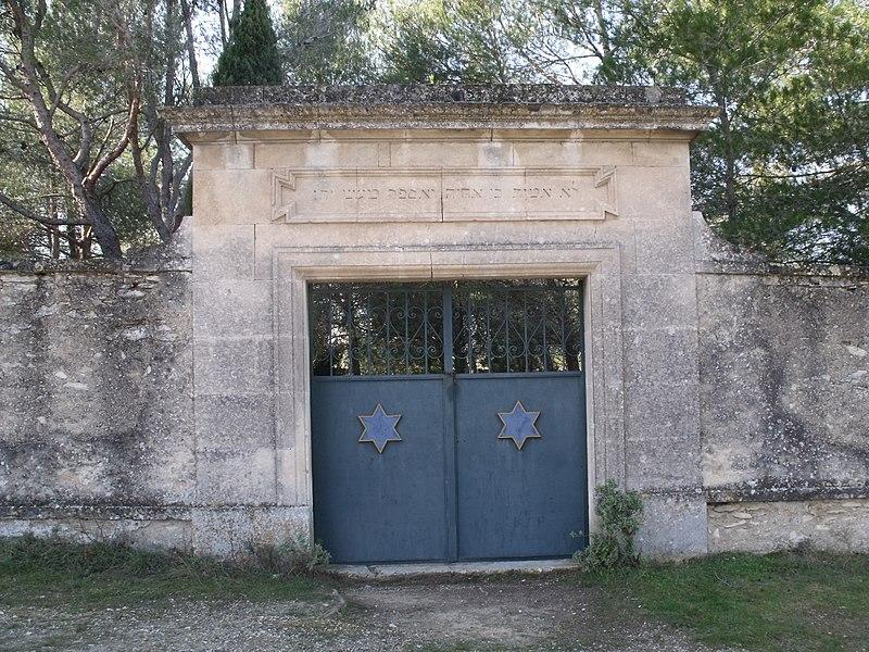 Photo du Monument Historique Cimetière israélite, dit aussi cimetière des juifs ou cimetière juif situé à Saint-Rémy-de-Provence