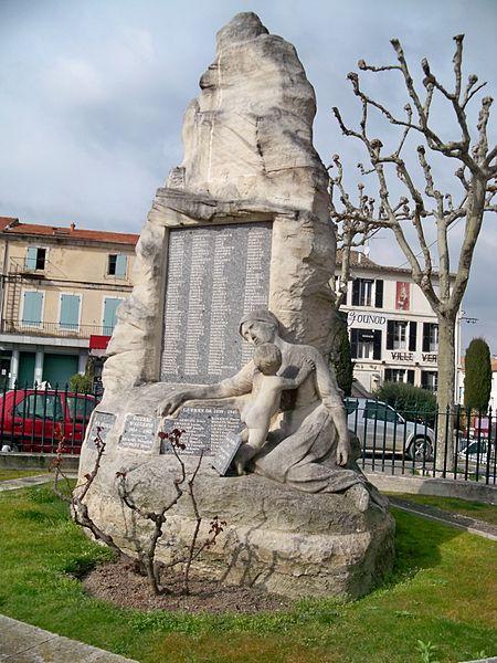 Photo du Monument Historique Monument aux morts de la guerre de 1914-1918 situé à Saint-Rémy-de-Provence