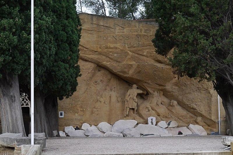 Photo du Monument Historique Monument aux morts de la guerre de 1914-1918, dit aussi Monument du Sublime Réveil ou monument d'Eugène Piron situé à Salon-de-Provence