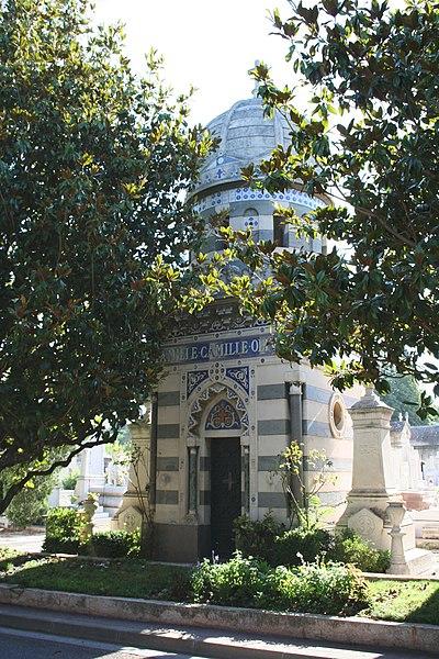 Photo du Monument Historique Cimetière Saint-Pierre situé à Marseille