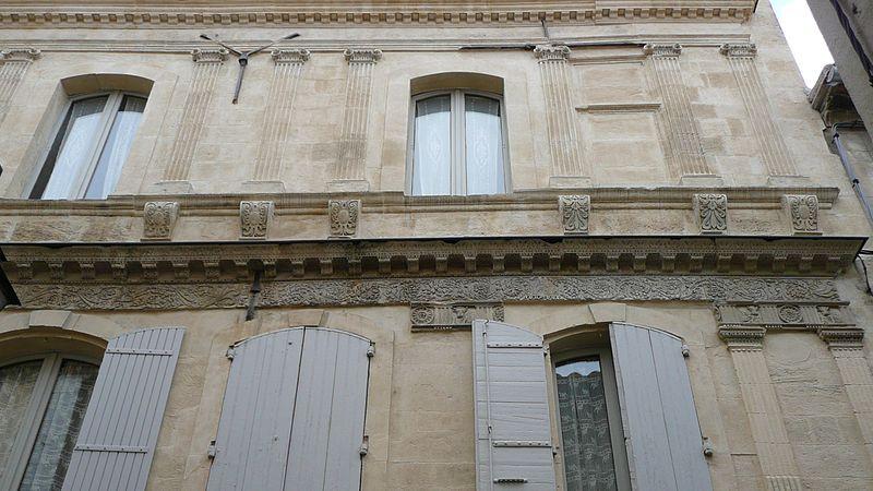 Photo du Monument Historique Hôtel de Donine situé à Arles