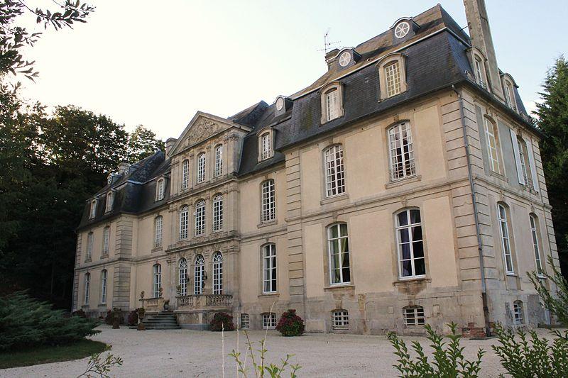 Photo du Monument Historique Château de Coupigny situé à Airan