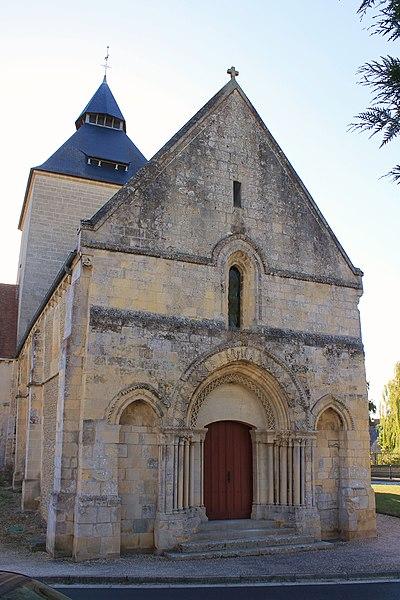 Photo du Monument Historique Eglise Saint-Germain situé à Airan