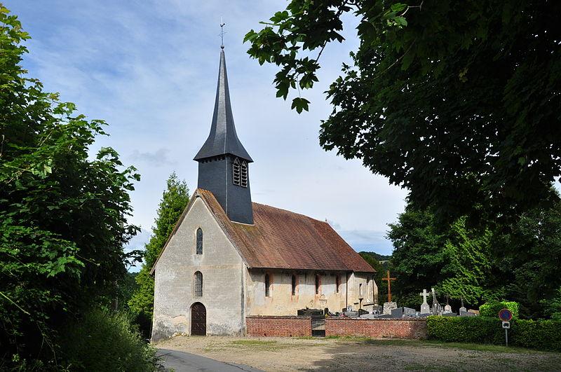 Photo du Monument Historique Eglise Notre-Dame situé à Auquainville