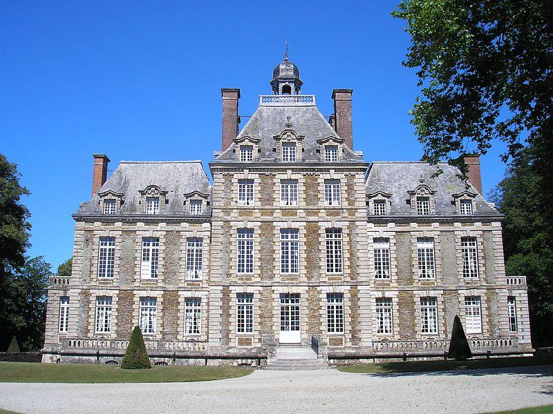 Photo du Monument Historique Château de Balleroy situé à Balleroy