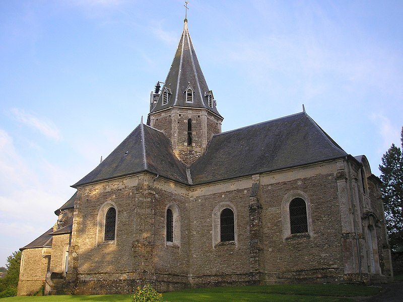 Photo du Monument Historique Eglise situé à Balleroy