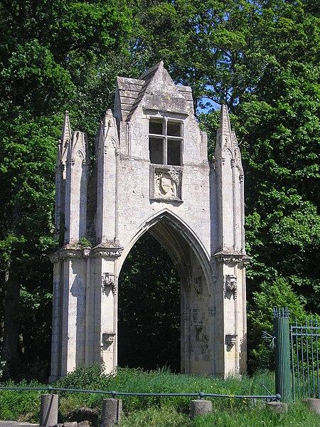 Photo du Monument Historique Château situé à Banneville-la-Campagne