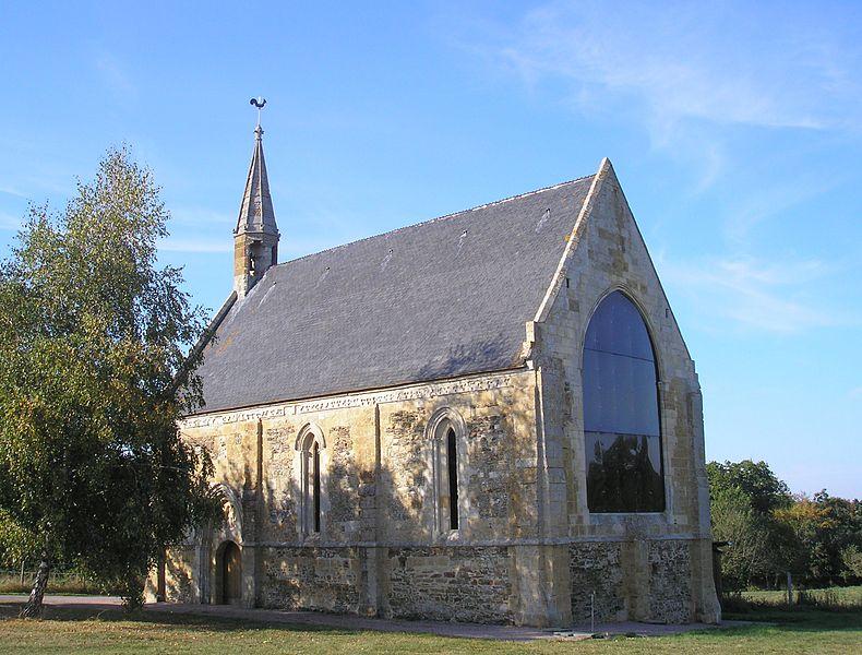 Photo du Monument Historique Chapelle Saint-Clair situé à Banneville-sur-Ajon