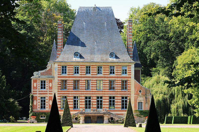 Photo du Monument Historique Château de Béneauville situé à Bavent