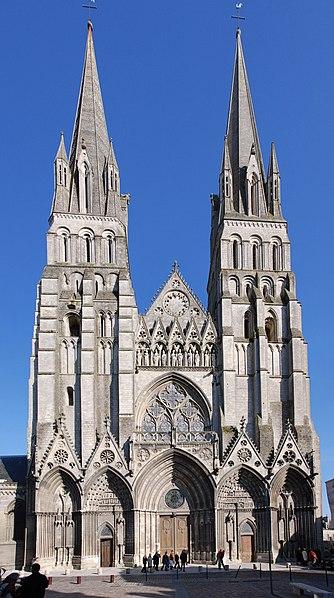 Photo du Monument Historique Cathédrale Notre-Dame situé à Bayeux