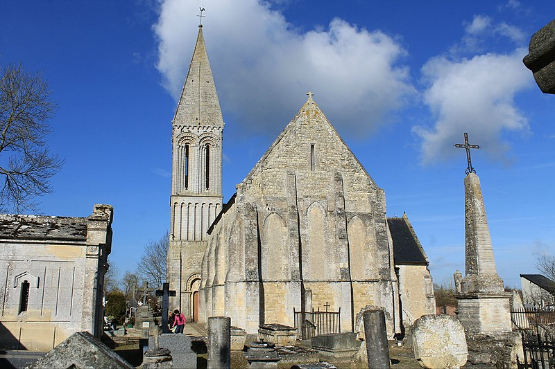 Photo du Monument Historique Eglise de Saint-Loup-Hors-Bayeux situé à Bayeux