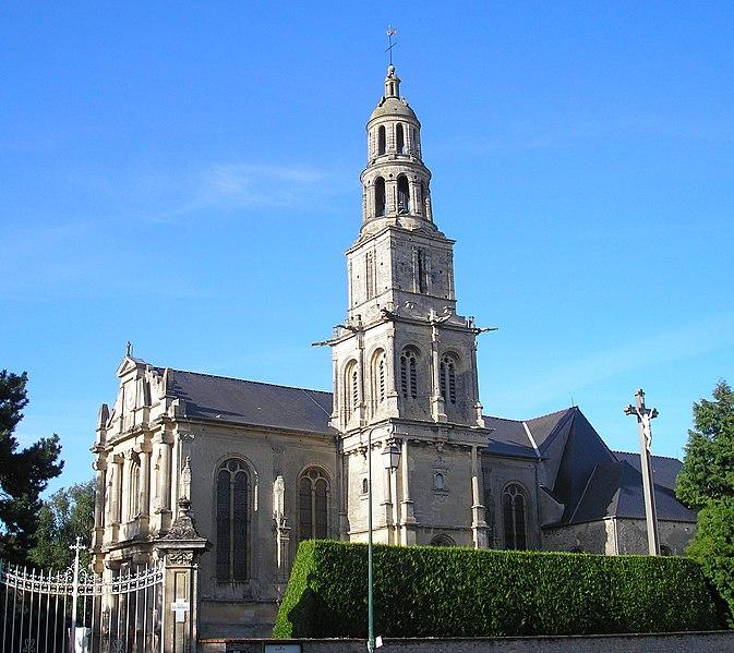 Photo du Monument Historique Eglise Saint-Patrice situé à Bayeux