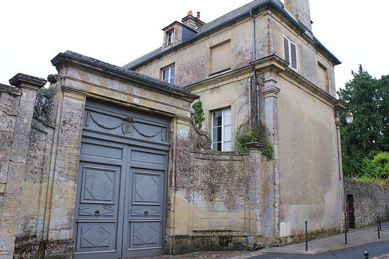 Photo du Monument Historique Hôtel Fréard du Castel situé à Bayeux