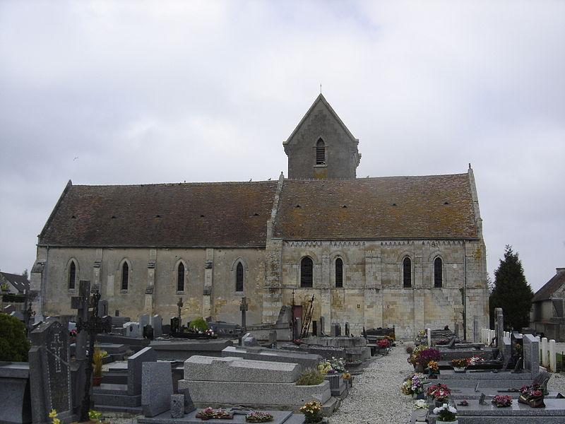Photo du Monument Historique Eglise situé à Bénouville