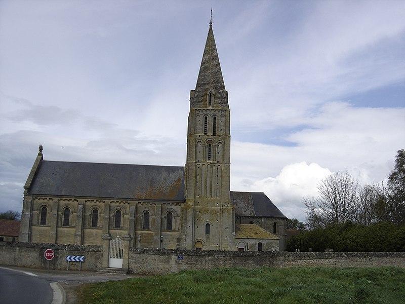 Photo du Monument Historique Eglise situé à Bény-sur-Mer