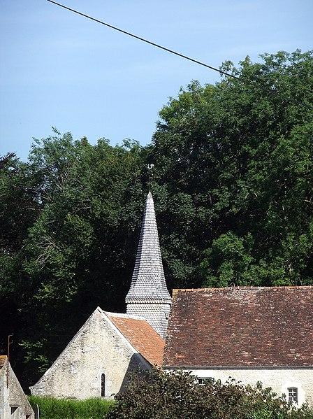 Photo du Monument Historique Ancienne église Saint-Gerbold situé à Bernières-d'Ailly