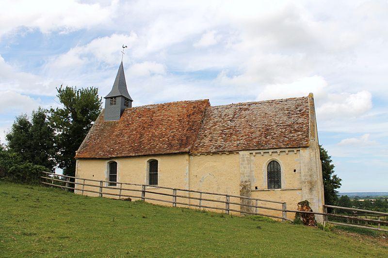 Photo du Monument Historique Eglise de Mirebel et son ancien cimetière situé à Biéville-Quétiéville