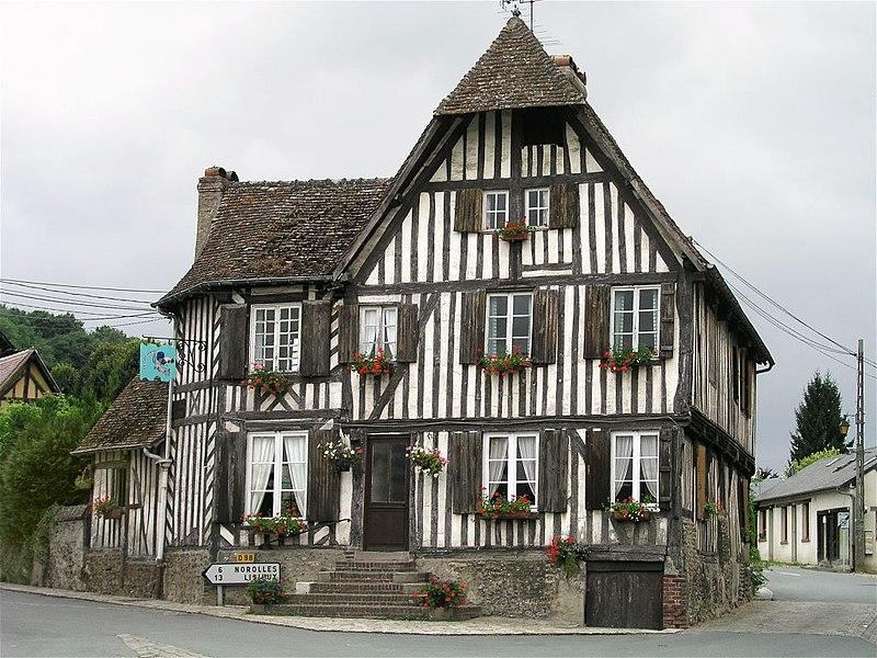 Photo du Monument Historique Ancienne auberge du Coq-Hardi situé à Blangy-le-Château