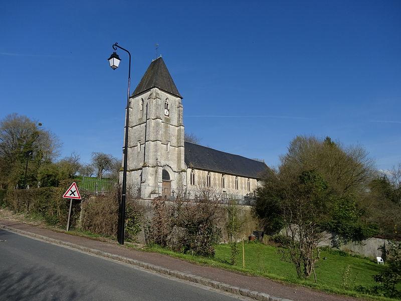 Photo du Monument Historique Eglise situé à Blangy-le-Château
