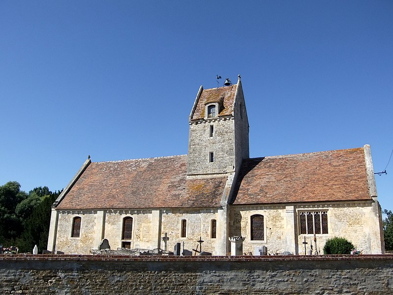 Photo du Monument Historique Eglise Saint-Quentin de Tassilly situé à Bons-Tassilly