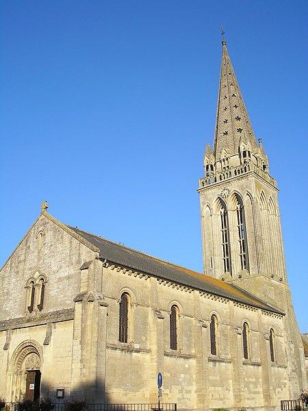 Photo du Monument Historique Eglise situé à Bretteville-l'Orgueilleuse