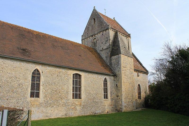 Photo du Monument Historique Eglise Saint-Lo situé à Bretteville-le-Rabet