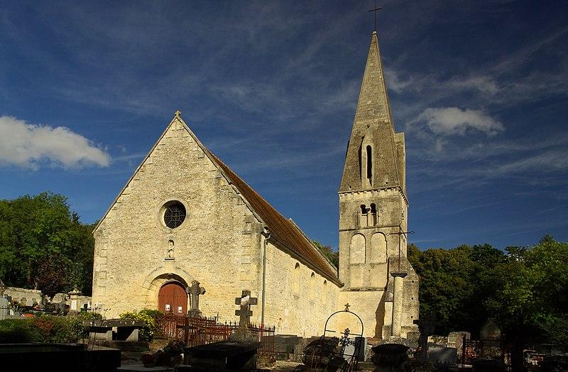 Photo du Monument Historique Eglise Notre-Dame de Quilly situé à Bretteville-sur-Laize